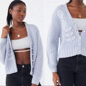 Urban Outfitters Gwendolin Button Front Cardigan